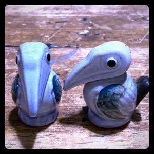 Vintage Pelican Salt & Pepper Shakers